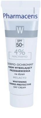 Pharmaceris W-Whitening Melacyd fehérítő krém a pigment foltok ellen