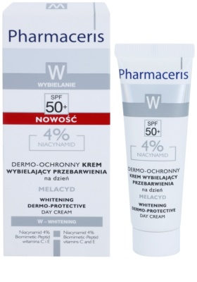 Pharmaceris W-Whitening Melacyd crema cu efect de albire impotriva petelor 1