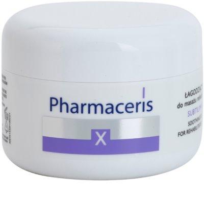 Pharmaceris X-Rays - Skin After Radiotherapy Subtilimasage Crema calmanta pentru masaj pentru regenerarea si reinnoirea pielii