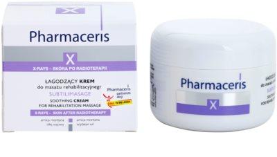 Pharmaceris X-Rays - Skin After Radiotherapy Subtilimasage успокояващ масажен крем за регенерация и възстановяване на кожата 1