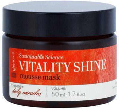 Phenomé Daily Miracles Brightening mascarilla espuma hidratante para lucir una piel radiante