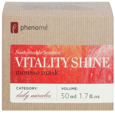 Phenomé Daily Miracles Brightening Masca hidratanta spuma pentru o piele radianta 3