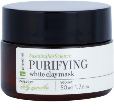 Phenomé Daily Miracles Imperfection reinigende Maske zur Reduktion von Hauttalg und zur Verkleinerung der Poren