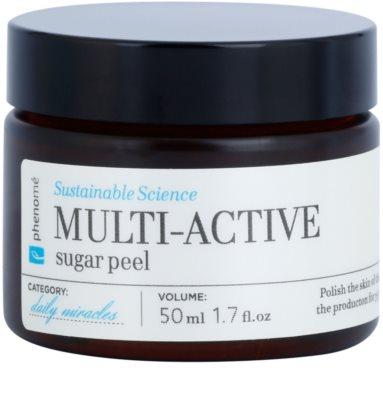 Phenomé Daily Miracles Cleansing peeling de açúcar para todos os tipos de pele inclusive sensível
