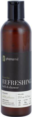 Phenomé Holistic Pleasure Green Tea osvežilni gel za prhanje in kopel
