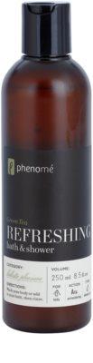 Phenomé Holistic Pleasure Green Tea osvěžující sprchový a koupelový gel