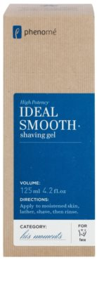 Phenomé His Moments High Potency Gel pentru un barbierit usor 2