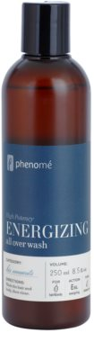 Phenomé His Moments High Potency energiespendendes Duschgel und Shampoo 2in1