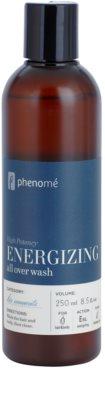 Phenomé His Moments High Potency gel de banho energizante e champô 2 em 1