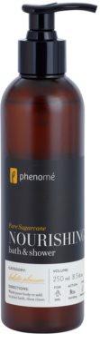 Phenomé Holistic Pleasure Pure Sugarcane gel de ducha y para baño 2 en 1