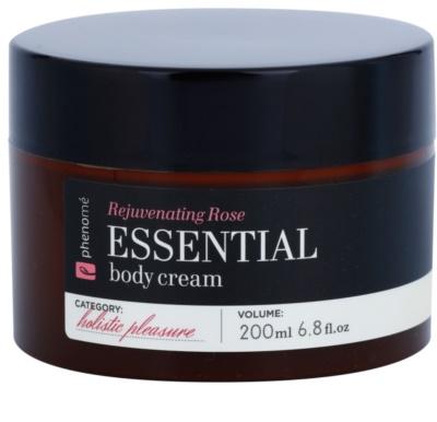 Phenomé Holistic Pleasure Rejuvenating Rose crema corporal con aceites esenciales