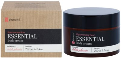 Phenomé Holistic Pleasure Rejuvenating Rose crema corporal con aceites esenciales 2