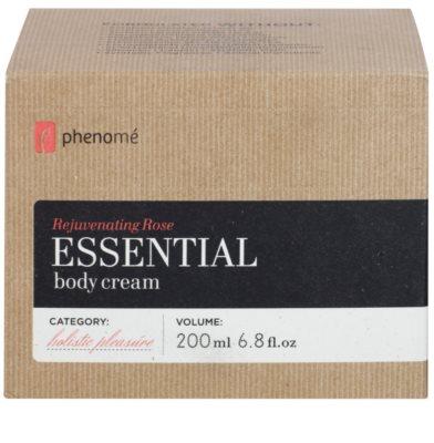 Phenomé Holistic Pleasure Rejuvenating Rose crema corporal con aceites esenciales 3