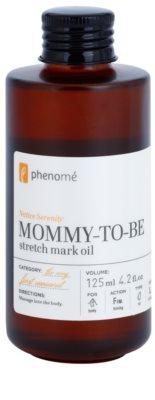 Phenomé The Very First Moment óleo corporal refirmante  para eliminar as estrias