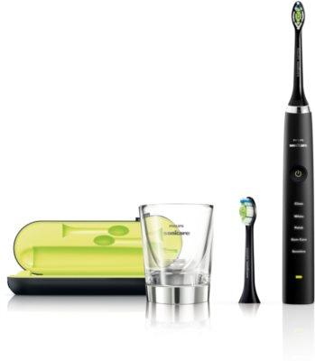 Philips Sonicare DiamondClean HX9352/04 sonický elektrický zubní kartáček s nabíjecí sklenicí 1