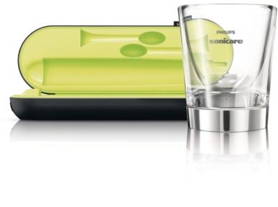 Philips Sonicare DiamondClean HX9352/04 sonický elektrický zubní kartáček s nabíjecí sklenicí 6