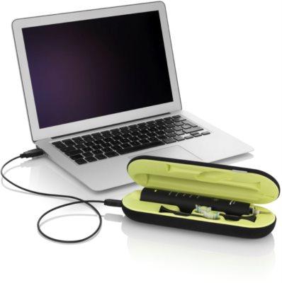 Philips Sonicare DiamondClean HX9352/04 sonický elektrický zubní kartáček s nabíjecí sklenicí 7