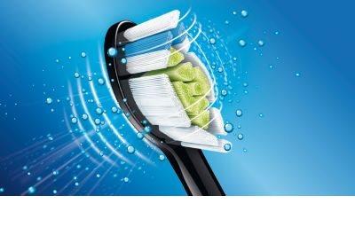 Philips Sonicare DiamondClean HX9352/04 sonický elektrický zubní kartáček s nabíjecí sklenicí 8