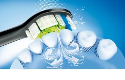 Philips Sonicare DiamondClean HX9352/04 sonický elektrický zubní kartáček s nabíjecí sklenicí 16