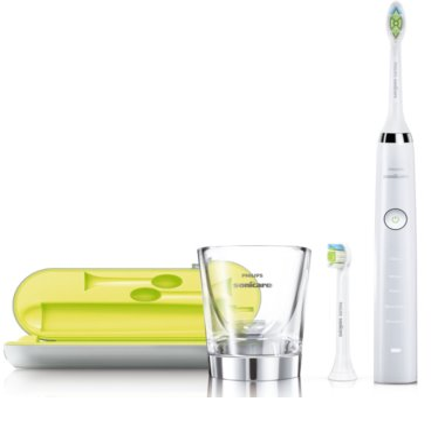 Philips Sonicare DiamondClean HX9332/04 escova de dentes elétrica sónica com um copo de carregamento