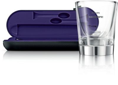 Philips Sonicare DiamondClean HX9372/04 sonična električna zobna ščetka s polnilnim kozarcem 4