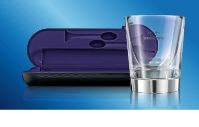 Philips Sonicare DiamondClean HX9372/04 sonična električna zobna ščetka s polnilnim kozarcem 20
