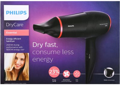 Philips DryCare Essential BHD029/00 fén na vlasy 9