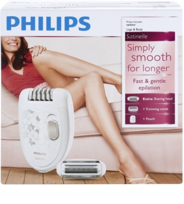 Philips Satinelle Soft HP6423/00 epilátor 15