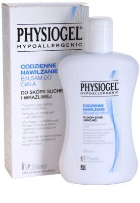 Physiogel Daily MoistureTherapy feuchtigkeitsspendendes Körperbalsam für trockene und empfindliche Haut 1