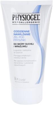Physiogel Daily MoistureTherapy gel de banho hipoalergénico para peles secas e sensíveis