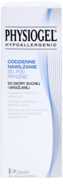 Physiogel Daily MoistureTherapy gel de banho hipoalergénico para peles secas e sensíveis 2