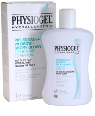 Physiogel Scalp Care champô para couro cabeludo seco a sensível 1