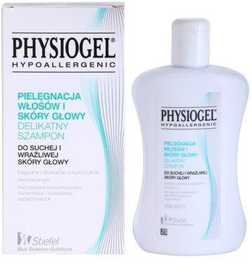 Physiogel Scalp Care champô para couro cabeludo seco a sensível 2
