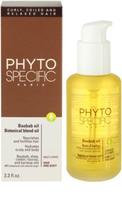 Phyto Specific Baobab Oil ingrijire par pentru par uscat 2