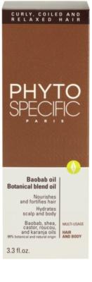 Phyto Specific Baobab Oil vlasová péče pro suché vlasy 3