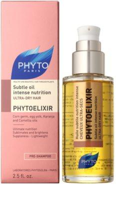 Phyto Phytoelixir intenzivní vyživující olej pro velmi suché vlasy 1