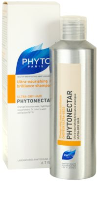 Phyto Phytonectar champú nutritivo para aportar brillo al cabello seco y frágil 1