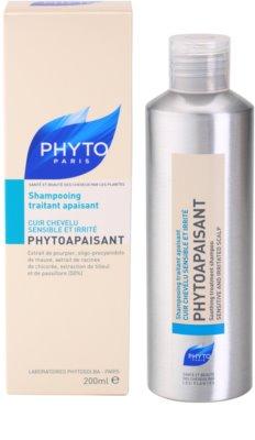 Phyto Phytoapaisant champô para pele sensível e irritada 2