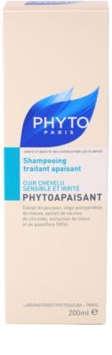 Phyto Phytoapaisant champô para pele sensível e irritada 3