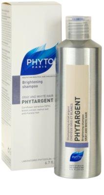 Phyto Phytargent sampon pentru par grizonat 1