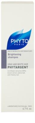 Phyto Phytargent šampon pro šedivé vlasy 3