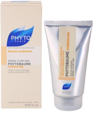Phyto Phytobaume acondicionador hidratante  para cabello normal y seco 2