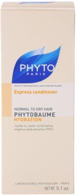 Phyto Phytobaume acondicionador hidratante  para cabello normal y seco 3