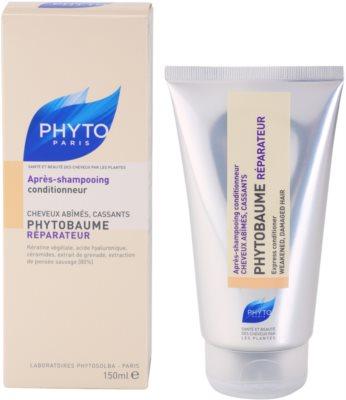 Phyto Phytobaume відновлюючий кондиціонер для пошкодженого волосся 2