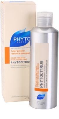 Phyto Phytocitrus sampon pentru stralucire pentru par vopsit 1