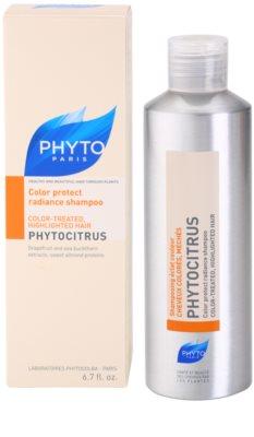 Phyto Phytocitrus champú iluminador para cabello teñido 2