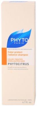 Phyto Phytocitrus champú iluminador para cabello teñido 3