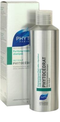 Phyto Phytocédrat ápoló és erősítő sampon zsíros fejbőrre 1