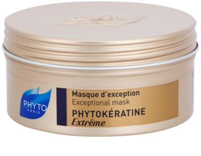 Phyto Phytokératine Extreme máscara reparadora para cabelos quebradiços e muito danificado