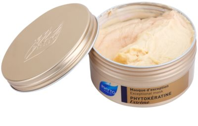 Phyto Phytokératine Extreme máscara reparadora para cabelos quebradiços e muito danificado 1
